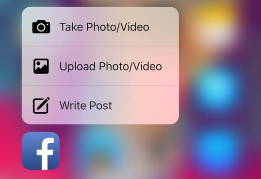 facebook 3dtouch