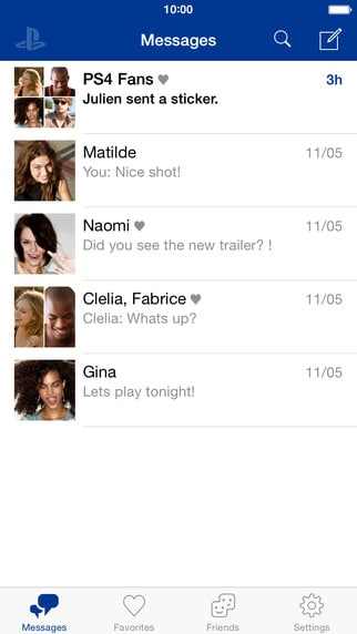 PlayStation®Messages1