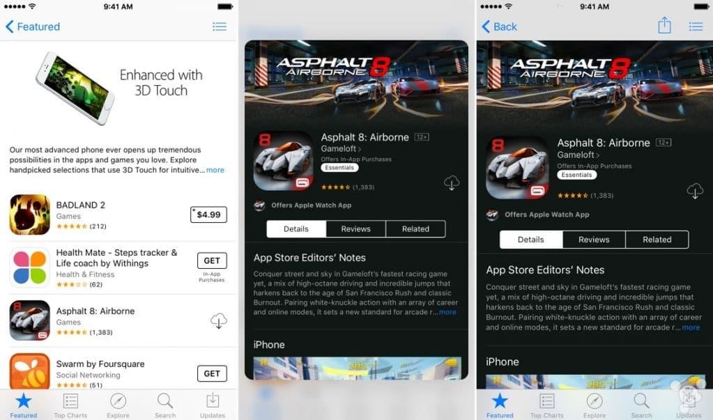 app store 3d touch1