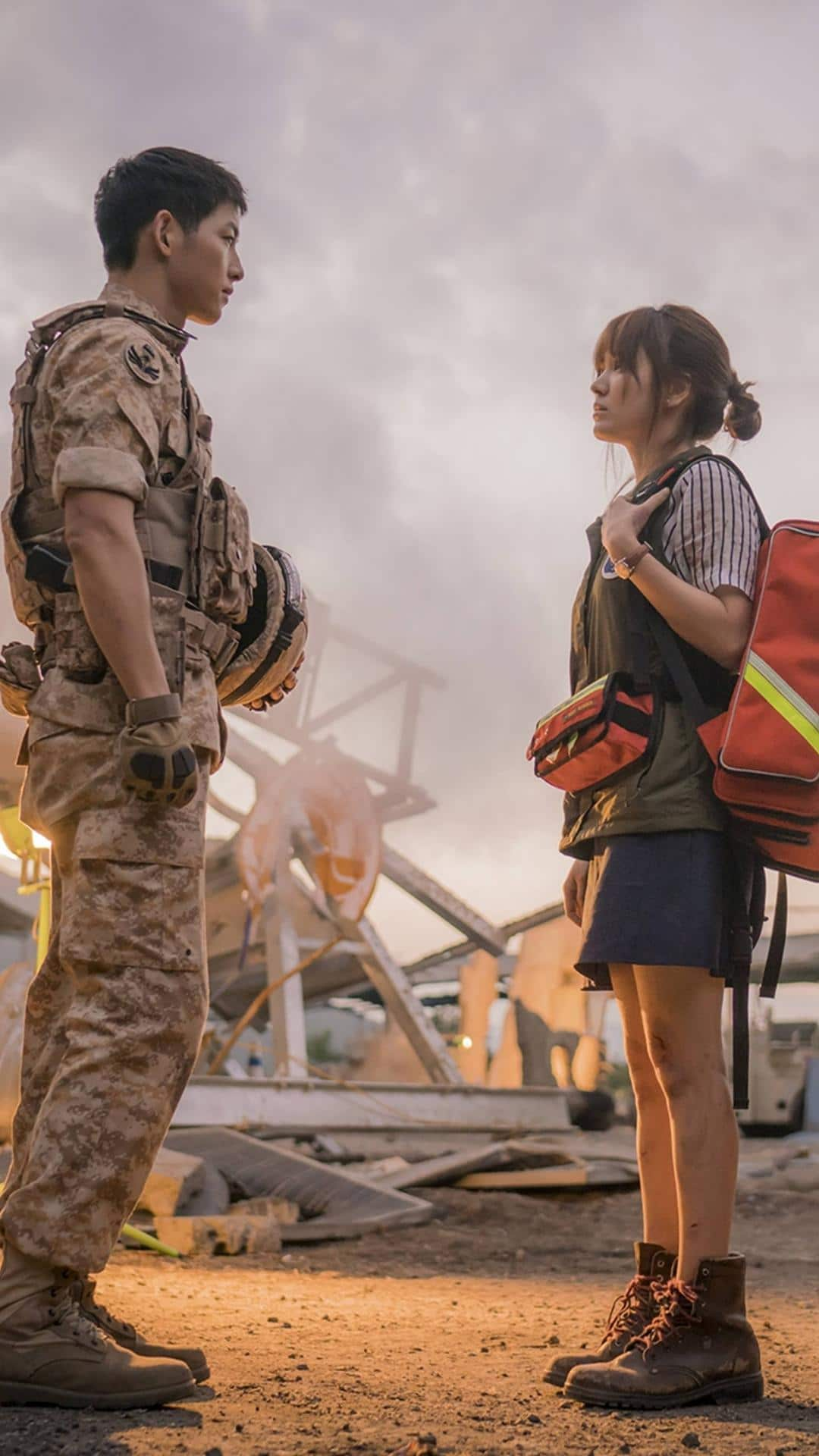 Descendants of the sun wallpapers for iphone apple lives - Descendants of the sun wallpaper hd ...