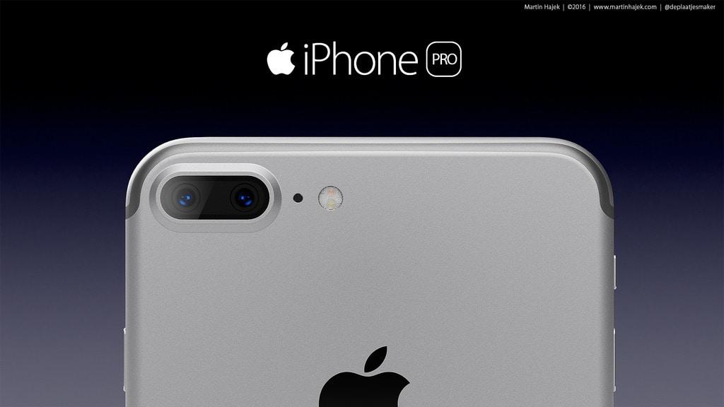 iPhone Pro rendering by Martin Hajek