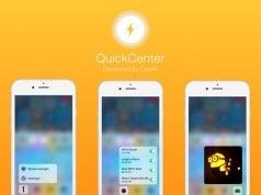 QuickCenter cydia tweak