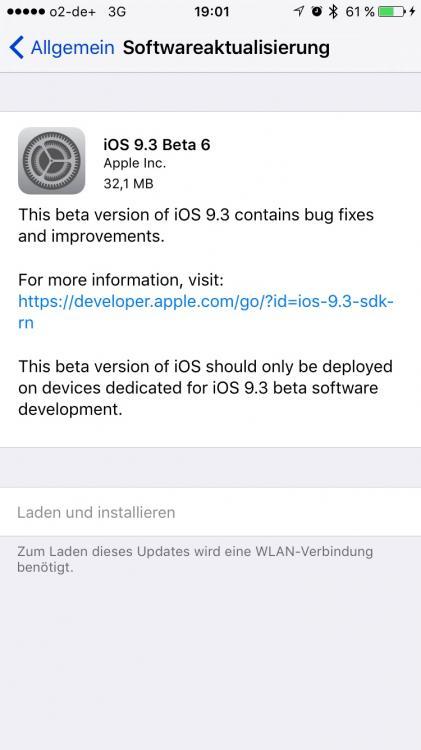 iOS9.3 BETA6