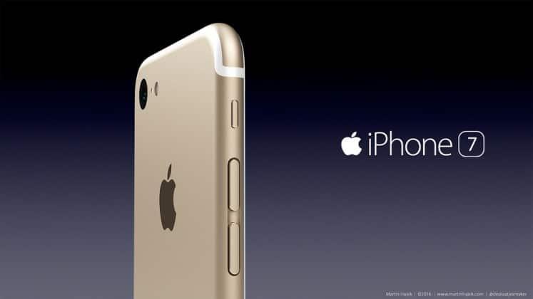 iPhone 7 rendering by Martin Hajek