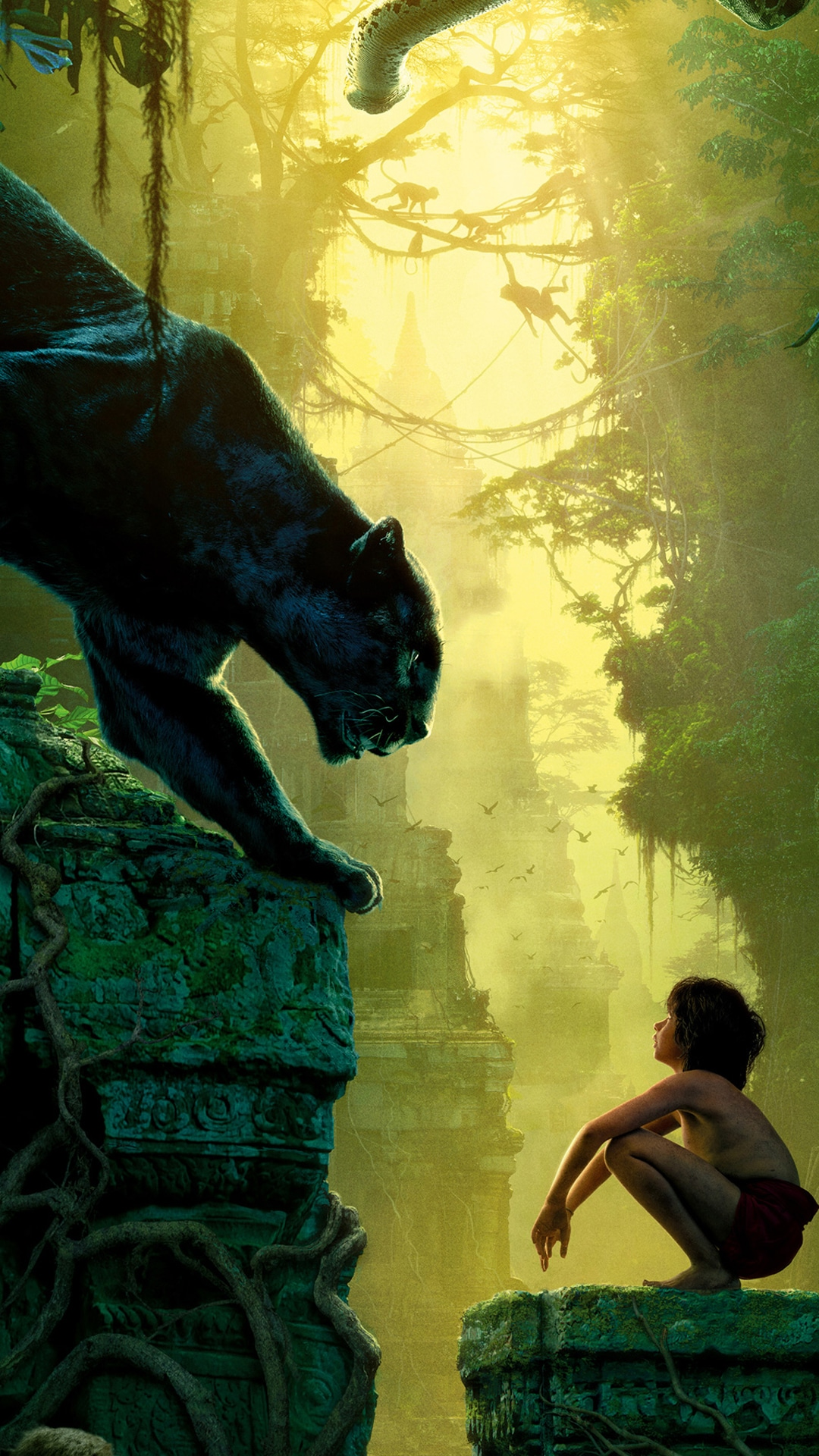 The Jungle Book 2016 Movie Wallpapers For Iphone Apple Lives