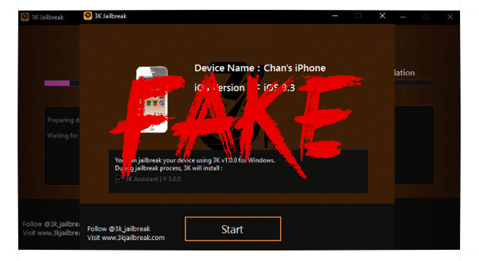 3K JAILBREAK FAKE