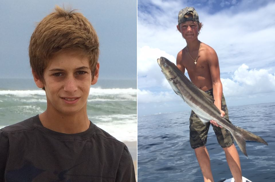 Missing Teen Lost at Sea