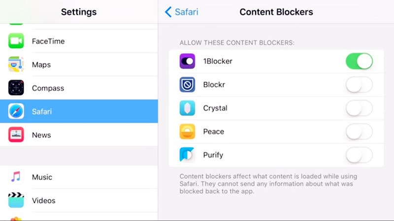 block ads on iPhone