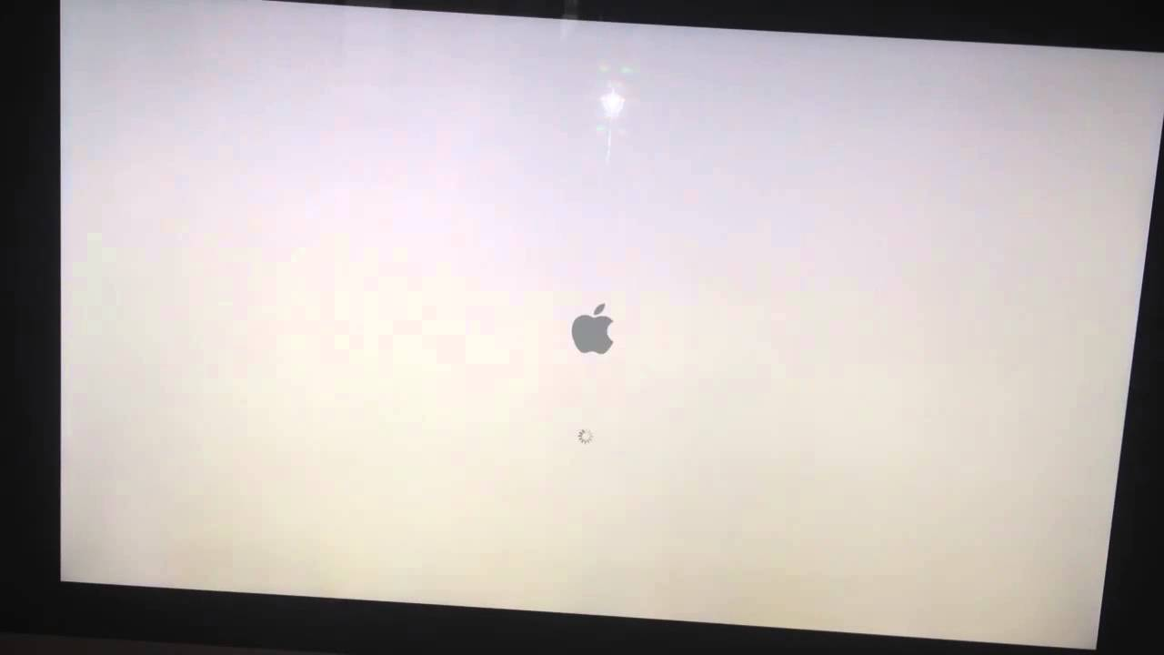 how to fix my macbook pro booting to a black screen