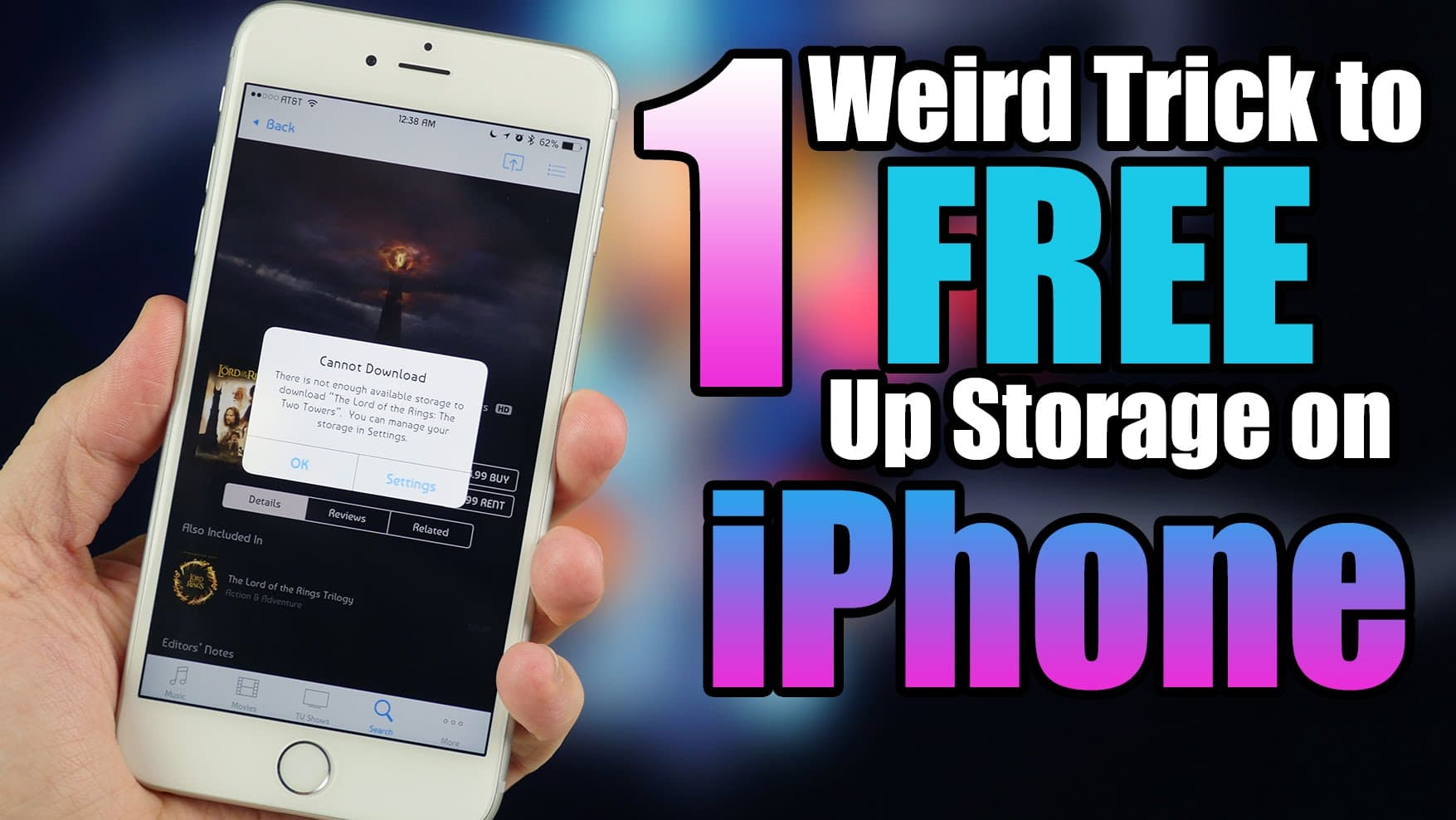 how to get more storage on your iphone how to get more available storage on iphone with a 20865