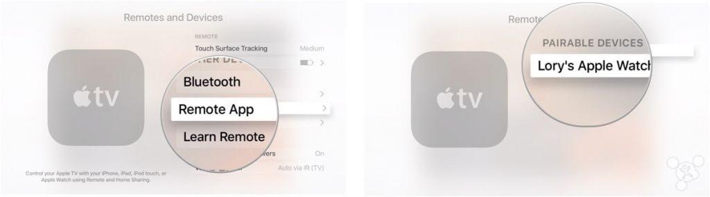 remote app on apple tv