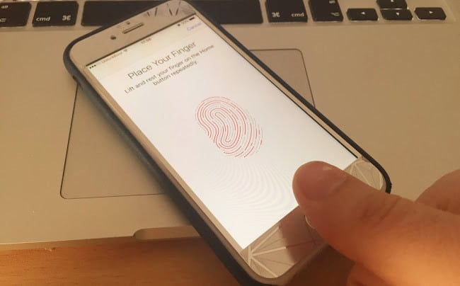 touch id not working