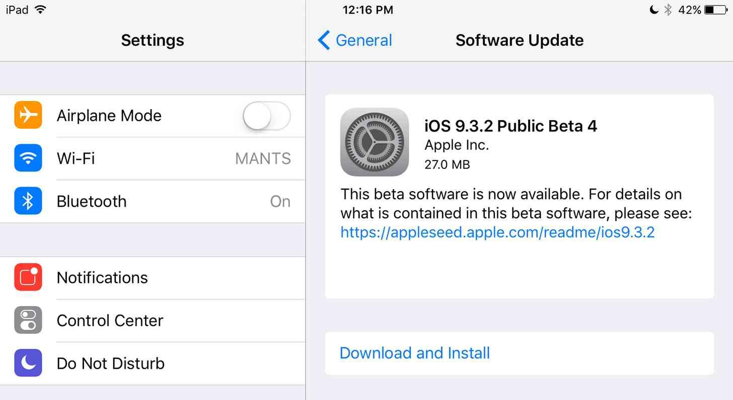 Ios Update 9.3